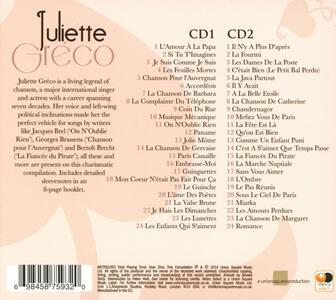 Je suis comme je suis - CD Audio di Juliette Gréco - 2