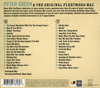 Alone with the Blues - CD Audio di Fleetwood Mac,Peter Green - 2