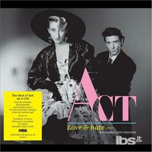 Love & Hate - CD Audio di ACT