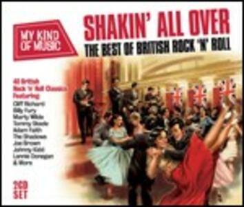 Shakin' All Over. The Best of British Rock 'n' Roll - CD Audio