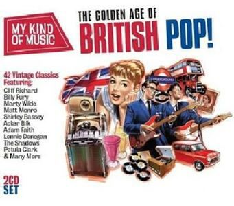 Golden Age of British Pop - CD Audio
