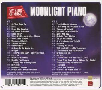 Moonlight Piano - My Kind O - CD Audio - 2