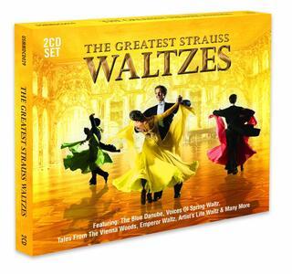 Greatest Strauss Waltzes - CD Audio di Johann Strauss