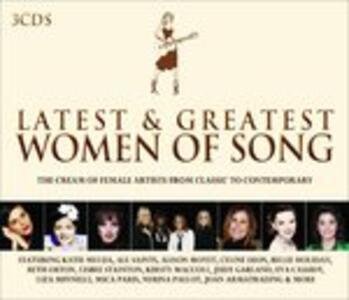 Latest & Greatest Women - CD Audio