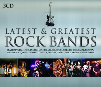Latest & Greatest Rock - CD Audio