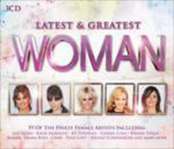 Latest & Greatest Woman - CD Audio