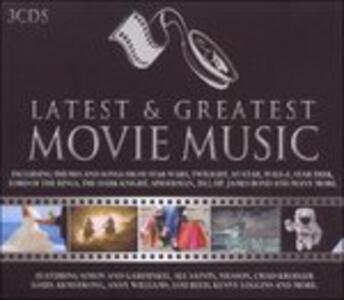 Latest & Greatest Movie - CD Audio