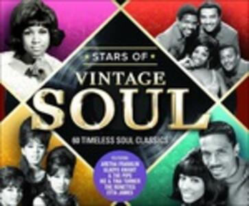 Stars of Vintage Soul - CD Audio
