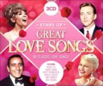 Stars of Great Love SOngs - CD Audio