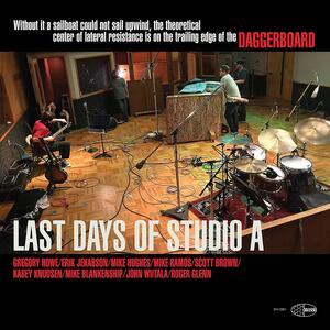 CD Last Days of Studio A Daggerboard