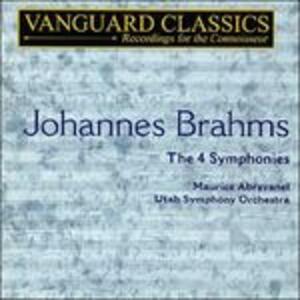 Sinfonia n.1 op.68 - CD Audio di Johannes Brahms,Maurice de Abravanel