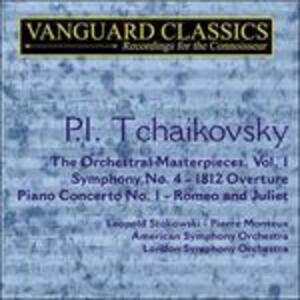 Capolavori orchestrali vol.1 - CD Audio di Pyotr Il'yich Tchaikovsky,Leopold Stokowski,John Ogdon