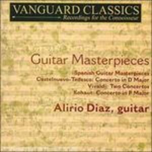 Capolavori per chitarra - CD Audio di Antonio Vivaldi,Alirio Díaz