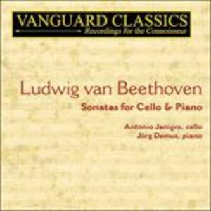 Sonate per Violoncello Complete - CD Audio di Ludwig van Beethoven