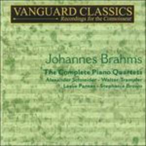 Complete Piano Quartets - CD Audio di Johannes Brahms,Alexander Schneider
