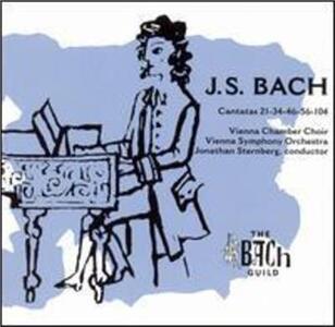 Cantatas 21-34-46-56-104 - CD Audio di Johann Sebastian Bach