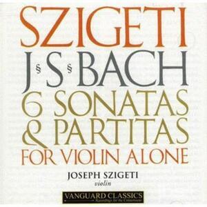 6 Sonatas & Partitas - CD Audio di Johann Sebastian Bach