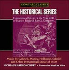 Instrumental Music From - CD Audio di Nikolaus Harnoncourt