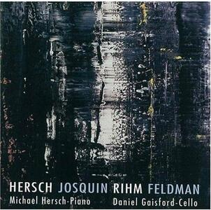 Cello Sonata & Piano - CD Audio di Michael Hersch
