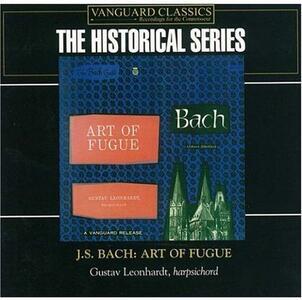 Art of Fugue - CD Audio di Johann Sebastian Bach