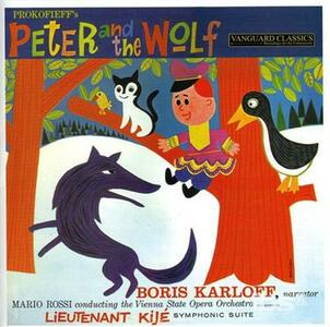 Peter and the Wolf Op.67 - CD Audio di Sergej Sergeevic Prokofiev