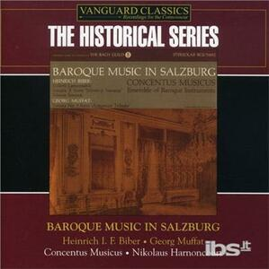 Historical. Baroque Music - CD Audio