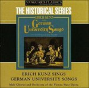 Erich Kunz Sings German - CD Audio di Erich Kunz