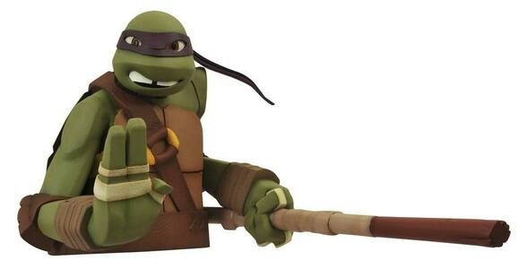 Teenage Mutant Ninja Turtles Bust Bank Donatello 20 cm