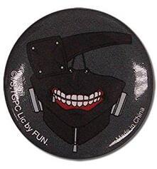 Tokyo Ghoul Kaneki Mask Button