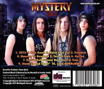 2013 - CD Audio di Mystery - 2