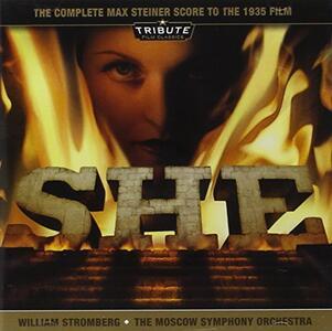 She (Colonna Sonora) - CD Audio di Max Steiner