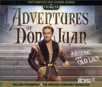 Adventures of Don Juan (Colonna Sonora) - CD Audio