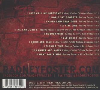 Unplugged & Lonesome - CD Audio di Radney Foster - 2