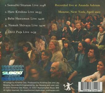 Live Ananda - CD Audio di Krishna Das - 2