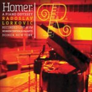 Homer. A Piano Odyssey - CD Audio di Rodoslav Lorkovic
