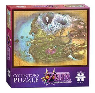Puzzle Legend of Zelda. Majora's Map