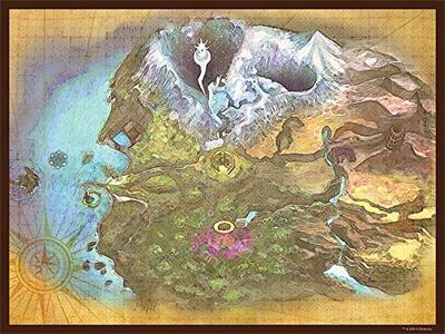 Puzzle Legend of Zelda. Majora's Map - 2