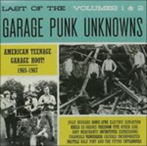 Last of the Garage 1 & 2 - CD Audio