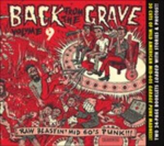 Back from the Grave 9 - CD Audio