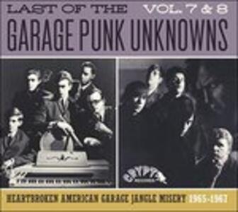 Last of the Garage Punk 7-8 - CD Audio