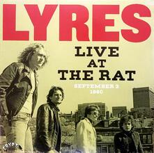 Live at the Rat, 3rd September 1980 - Vinile LP di Lyres