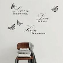 Imparare Vivere Sperare Bianco. Walplus (Ws3024)