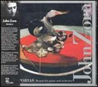 Aporias. Requia for Piano and Orchestra - CD Audio di John Zorn