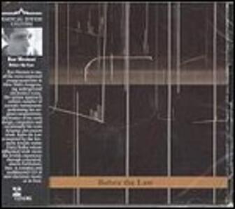 Before the Law - CD Audio di Raz Mesinai