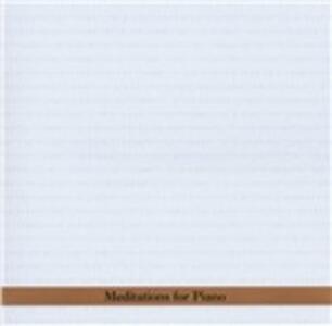 Meditations for Piano - CD Audio di Borah Bergman