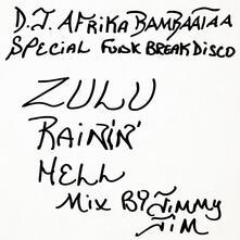 Zulu - Rainin' Hell Mix - Vinile LP di Afrika Bambaataa