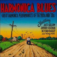 Harmonica Blues. The 20's and 30's - Vinile LP