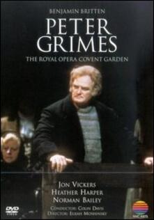 Benjamin Britten. Peter Grimes di John Vernon,Elijah Moshinsky - DVD