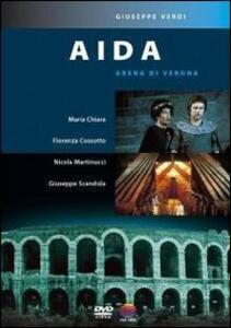 Giuseppe Verdi. Aida di Giancarlo Sbragia - DVD