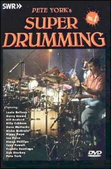Pete York's Super Drumming. Vol. 01 di Michael Maschke - DVD